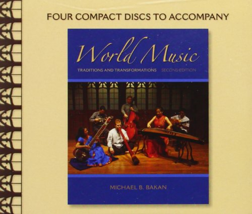 CD Set for World Music: Traditions and (2 Cd Set Music Book)