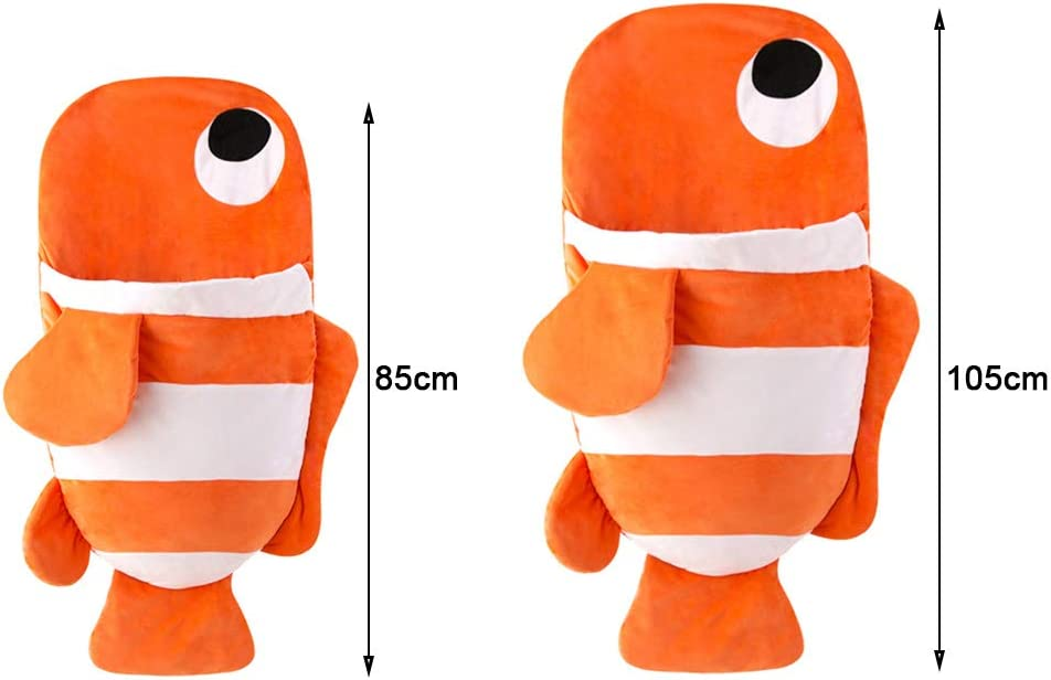 M-85cm ni/ña para beb/és de 0 a 36 Meses beb/é c/álido Saco de Dormir para beb/é Goldfish lulalula beb/é Manta para beb/é ni/ña de algod/ón Suave para Invierno