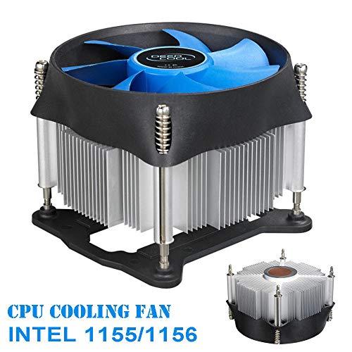 Deepcool Theta 31 PC CPU Cooler Fan Heatsink Radiator CPU Copper Base Cooler 100mm for Intel i3 i5 CPU LGA 1150/1155/1156,Heatsink,10cm Fans Cooling by Tekit