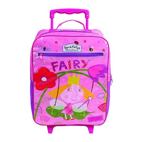 Mala Escolar G com Rodinhas Plus O Pequeno Reino de Ben e Holly, 10952, DMW Bags