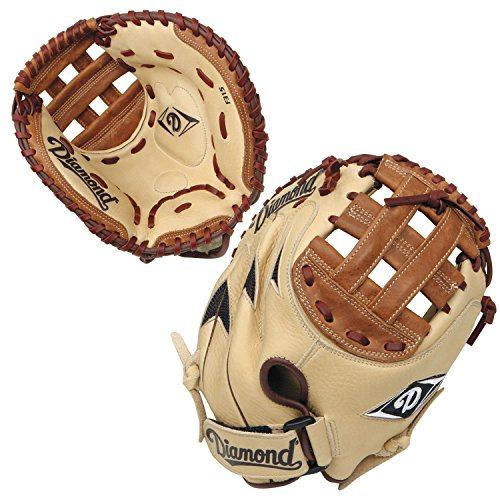 Diamond Sports Youth Fastpitch Catcher's Mitt (Righty, Fits on Left ()