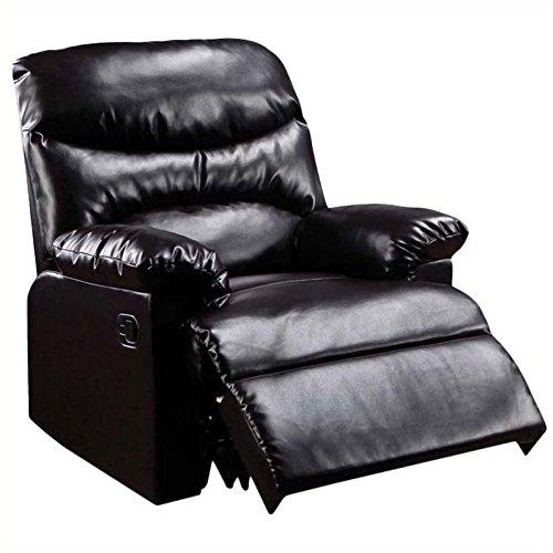 Cheap Acme Furniture Arcadia Leather Recliner in Espresso