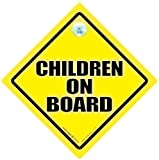 Children On Board Car Sign, Baby on Board Sign, Children On Board Sign, Yellow, Baby On Board, Baby on Board Sign, Car Sign, Novelty Car Sign, Bumper Sticker, Decal, Baby Sign, Baby Car Sign