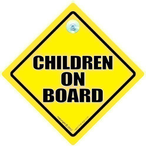 Children On Board Car Sign, Baby on Board Sign, Children On Board Sign, Yellow, Baby On Board, Baby on Board Sign, Car Sign, Novelty Car Sign, Bumper Sticker, Decal, Baby Sign, Baby Car Sign iwantthatsign.com CHILDRENOB