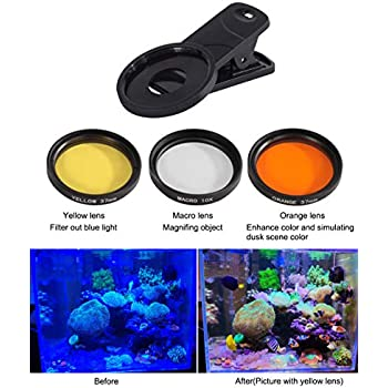 Amazon.com: Aquarium Choice Coral Lens Filter Kits for