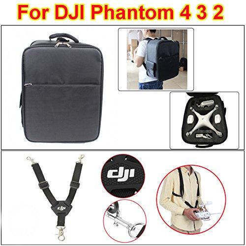 Onebird Schultertasche Rucksack-Tasche Carring Case für DJI Phantom 4 3 2 RC Quadcopter Drone + Schultergurt Gürtel Sling für DJI Gurt Phantom 4 3 2 & inspirieren
