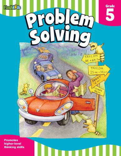 Problem Solving: Grade 5 (Flash Skills) - Problem Math Solving Books