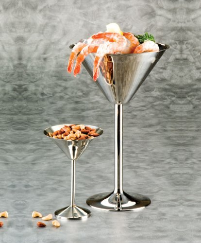 American Metalcraft (JMART15) 15'' Stainless Steel Martini Glass Server by American Metalcraft (Image #1)