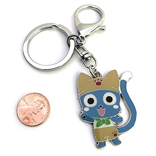 Anime Fairy Tail Happy Cat Kitten Cute Keychain Limited Edition