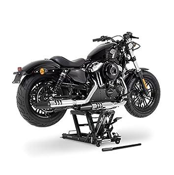 Motorrad-Hebeb/ühne Hydraulisch Sicherung 4 Distanzst/ücke Schwarz f/ür Kawasaki VN//Vulcan 900 Classic//Custom
