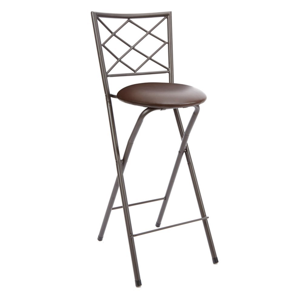 Marvelous Mainstays Cheyenne Diamond X Back Folding 30 In Bar Stool Bralicious Painted Fabric Chair Ideas Braliciousco