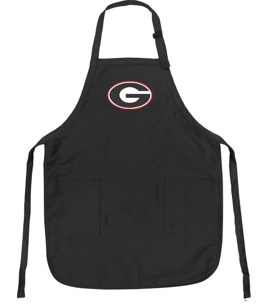 University of Georgia Aprons Georgia Bulldogs w//Pockets Grilling Gift Him Her Men