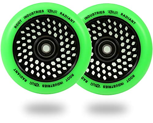 Root Industries 110mm Honeycore Wheels - Radiant Green (Green) ()