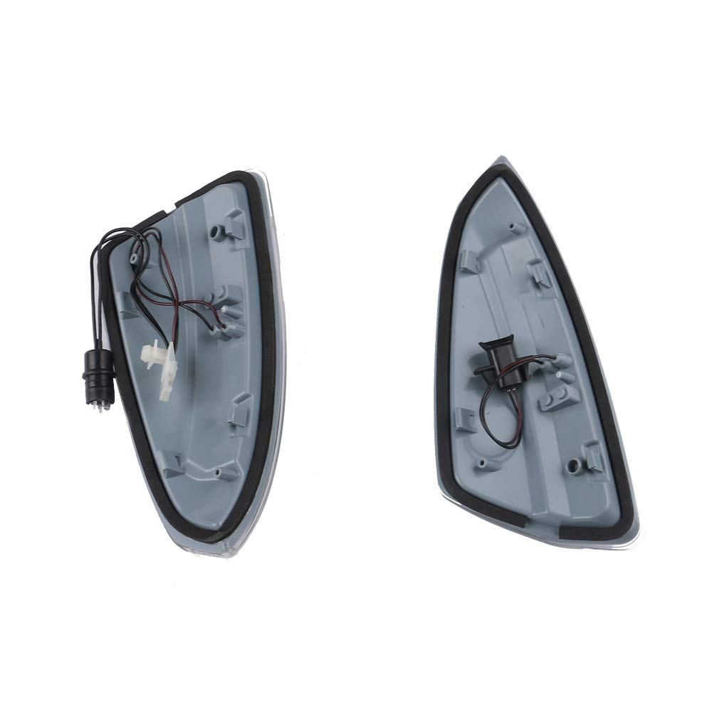 Door Mirror Turn Signal Lamp Light 1649061300 1649061400 1 Pair Right And Left Fit For Mercedes ML350 GL320 W164 2008 2009 2010 2011 2012 2013 2014