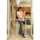Baby : Extra Tall Wide Span Safety Gate provides Safety And Convenience To Your Home by ( Regalo )