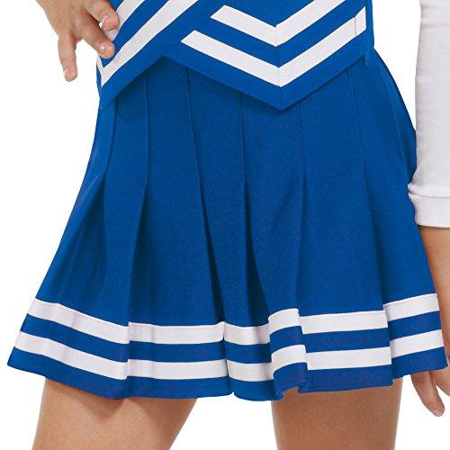 Double-Knit Knife-Pleat Cheer Uniform Skirt - Womens Sizes