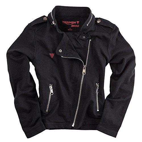 Triumph Motorcycles Logo Kelly Biker Motorcycle Zip Thru Sweatshirt Casual Jacket XXL ()
