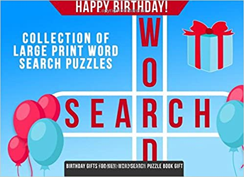 Birthday Gifts For Men Word Search Puzzle Book Gift Chris Patton 9781981810833 Amazon Books