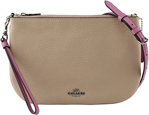 Coach Women's Pink Transformable Crossbody/Wristlet, Style F28040