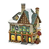 Department 56 Dickens' Village Swan and Trumpet Lit House