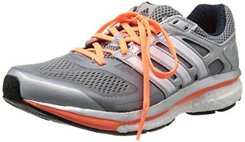 glow Grau 1 6 Orange Correr De Glide Grey black tech Material Adidas Zapatillas Sintético F12 Gris S14 Mujer Supernova awZvBq4