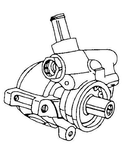 Amazon Com Arc 30 6327 Power Steering Pump Remanufactured Automotive