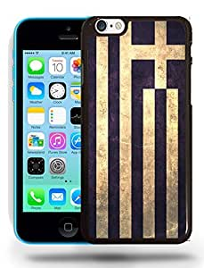 Greece National Vintage Flag Phone Case Cover Designs for iPhone 5C