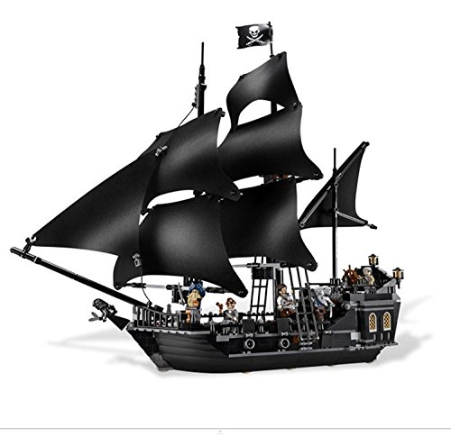 NEW Lepin 16016 3652Pcs Movies Series MOC Pirates of the Caribbean the Black Pearl Building Blocks Bricks Compatible to Children Gifts