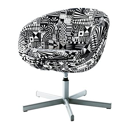 IKEA SKRUVSTA - Swivel armchair Sunnaryd black/white  sc 1 st  Amazon UK & IKEA SKRUVSTA - Swivel armchair Sunnaryd black/white: Amazon.co.uk ...
