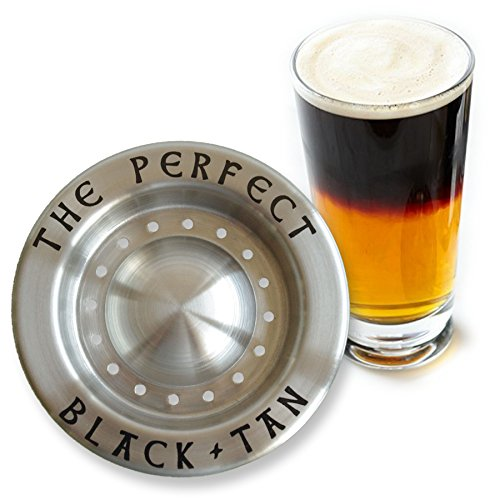 The Perfect Black And Tan Beer Layering Tool (Guiness Gift Set)