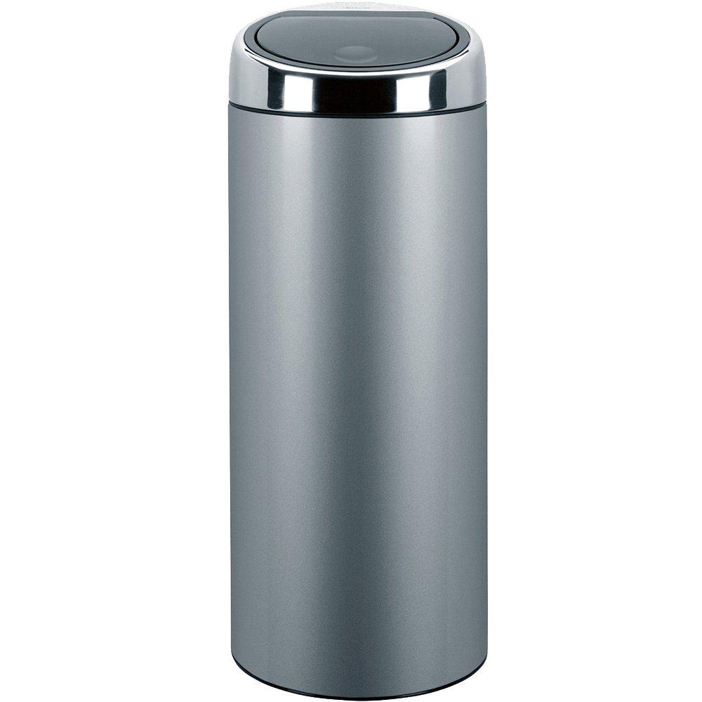 Brabantia Touch Bin, 30 L - Metallic Grey: Amazon.co.uk: Kitchen & Home