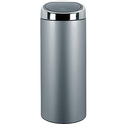 Brabantia Touch Bin 30 Liter.Brabantia Touch Bin 30 L Metallic Grey Amazon Co Uk Kitchen Home