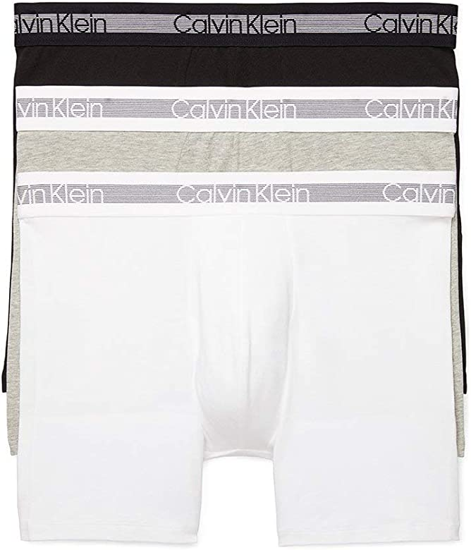 Calvin Klein calzoncillos bóxer de algodón elástico para hombre (3 unidades) - Gris - Small: Amazon.es: Ropa y accesorios