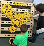 Rigamajig Simple Machines Add-On Kit to Build onto Basic Builder and get Hands-on Practice with Gears, axels, levers, and Other Simple Machines. Great for STEM Education. Ages 3+