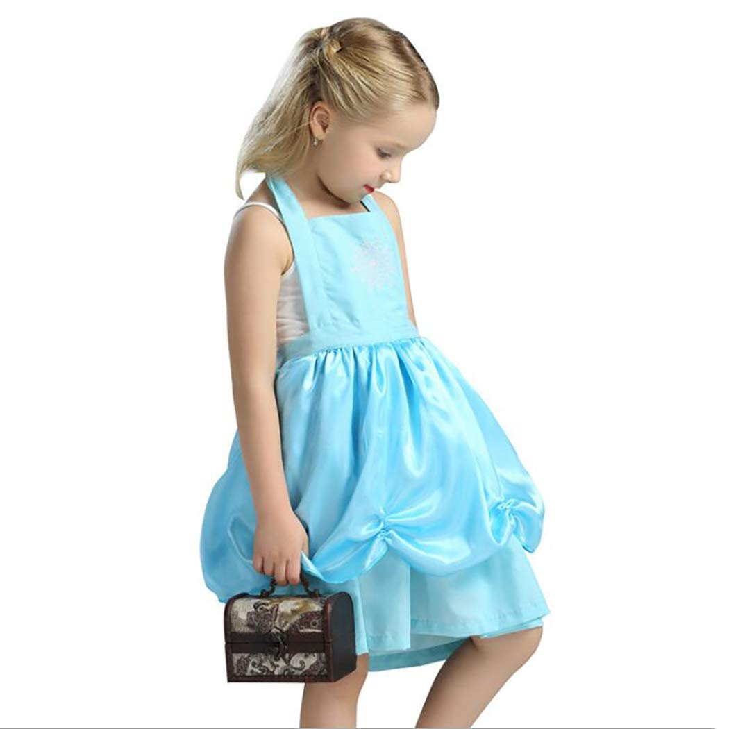 Amazon.com: HÖTER Girls Princess Dress Up Apron Halloween Costume Party  Fancy Dress: Clothing