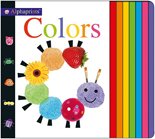 Alphaprints: Colors - Board Book Colours