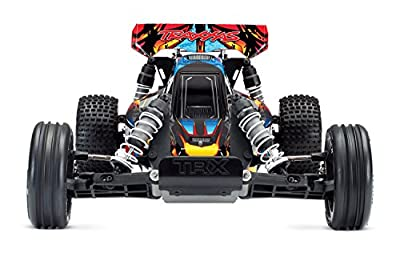 Traxxas Bandit Vxl 2WD Off-Road Buggy, Rock n' Roll, 1/10 Scale