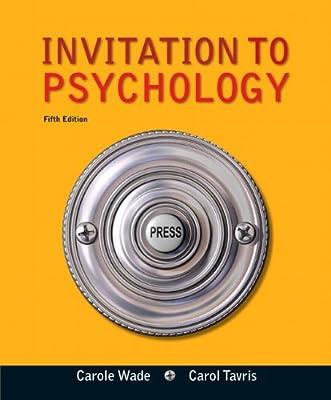 Invitation To Psychology 5th Edition
