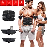 Kyпить ABS Stimulator- Muscle Stimulation Toner Abdominal Toning Belts Trainer Body Fitness Training Slimming Machine Gym Workout - Home Indoor Outdoor Fitness Apparatus For Men Women на Amazon.com
