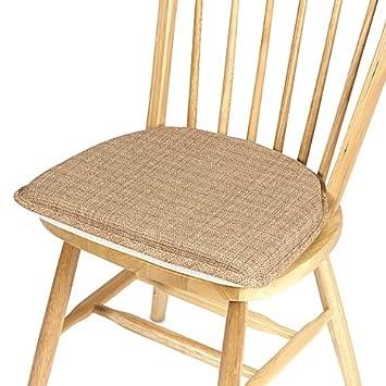 Klear Vu Essentials Bahama Gripper Chair Pad In Wheat