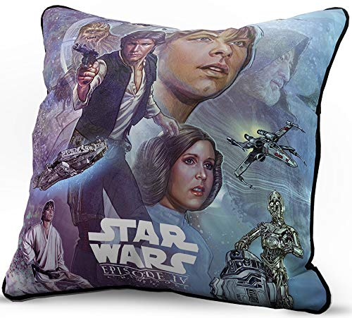 Hope Throw Pillow - Jay Franco Star Wars Celebration A New Hope Limited Edition Decorative Pillow Cover, Episode 4