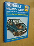 Renault Megane and Scenic Service and Repair Manual (Haynes Service and Repair Manuals)