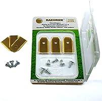 RAZORIZE®. 9x Cuchillas de repuesto de titanio (TiN) para robots ...