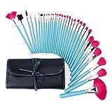 Coosa Makeup Brush Set| Pro Cosmetic-32pc Studio Pro Makeup Make Up Cosmetic Brush Set Kit