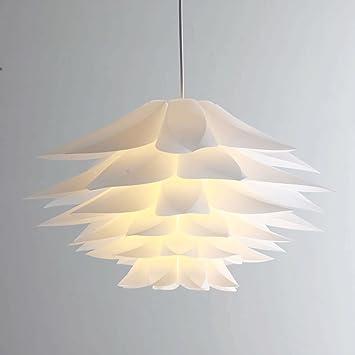 Kronleuchter Moderne Minimalistische Kreative Wohnzimmer Esszimmer  Schlafzimmer Erker Fenster Lampe Art Lotus Lily Weiße ZHJING (