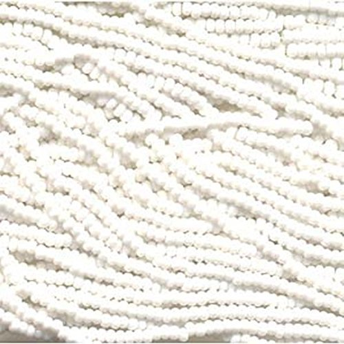 Genuine Jablonex Preciosa Czech Glass Seed Beads 11/0 Mini Hanks - Chalk White