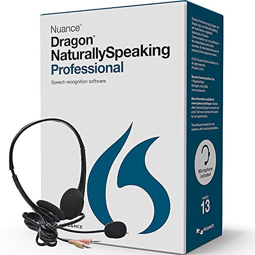 Nuance Dragon Naturally Speaking Professional Version 13 ...