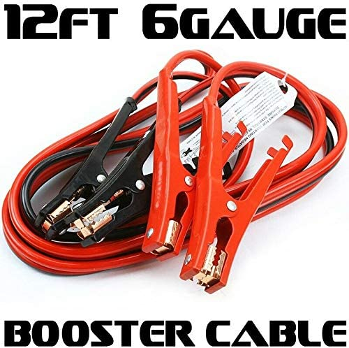 [해외]New tools Heavy Duty 12` FT 6 Gauge 500 AMP Emergency Jumper Cable Booster Jump Start / New tools Heavy Duty 12` FT 6 Gauge 500 AMP Emergency Jumper Cable Booster Jump Start