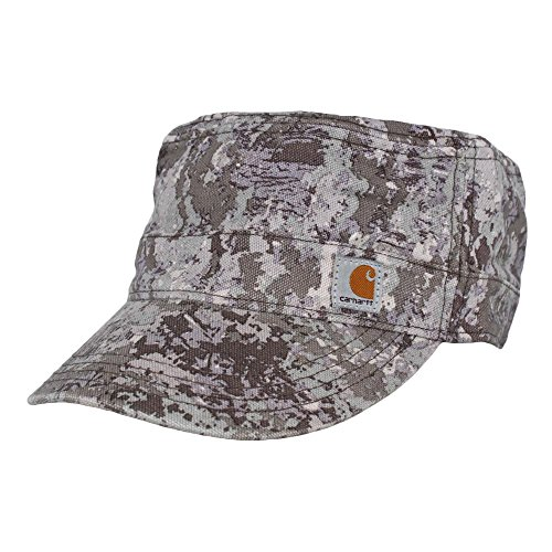 - Carhartt Women's Hendrie Military Cap Moisture Wicking Sweatband Closure,Hybrid Camo Purple,One Size