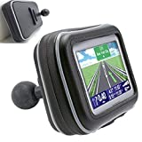 """Product review for ChargerCity XXL WaterProof 5"""" GPS SatNav Case for Garmin Nuvi 50 52 54 55 56 57 58 2597 2595 2599 LM LMT TomTom XL 3xx XXL 5xx GO Start w/ 1"""" ball mail connection for with Arkon Robust & Ram Mount"""